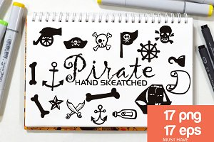 Pirate ClipArt - Vector & PNG