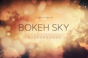 Bokeh SKY Backgrounds v2