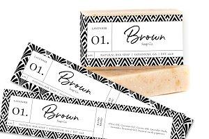 Soap Bar Label Templates
