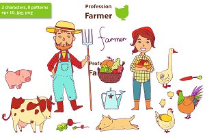 Profession. Farmer.