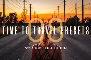 8 Time To Travel Lightroom Presets