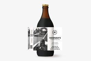Hannah Beer Label Template