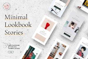 Minimal Lookbook Instagram Stories