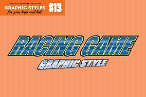 10 Racing Game Graphic Style