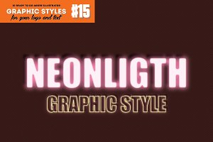10 Neon Light Graphic Style