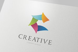 C letter Creative Logo