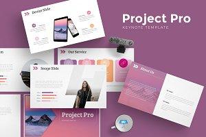 Project Pro - Keynote Template