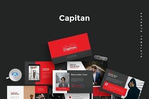 Capitan - Keynote Template