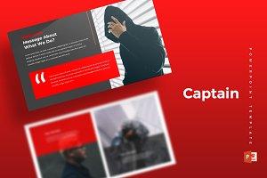 Capitan - Powerpoint Template