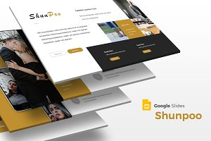 Shunpoo - Google Slide Template