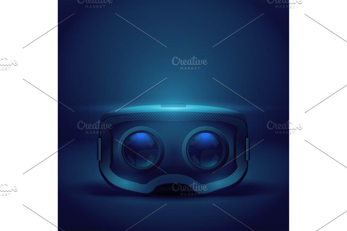 Stereoscopic 3d VR headset