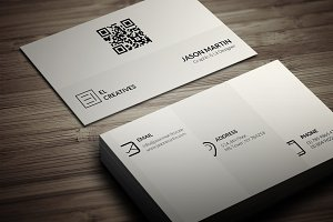 Simple Metro Business Card