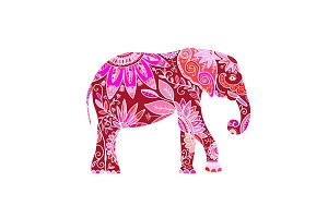 Elephant ornate, sketch for your