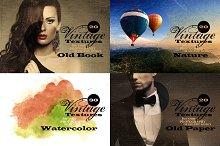 90 Vintage Overlay Textures