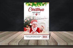 Holiday Mini Session Template V896