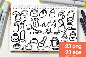 Bags ClipArt - Vector & PNG