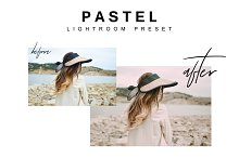 Pastel Lightroom preset