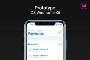 Prototype iOS Wireframe Kit