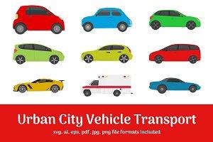 50 Urban City Vehicle Transport