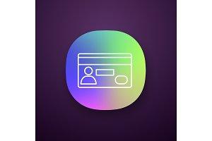 Credit card app icon
