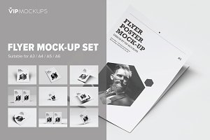 Flyer Mock-Up Set