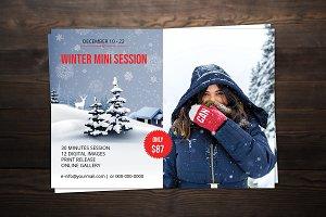 Winter Mini Session Template-V01