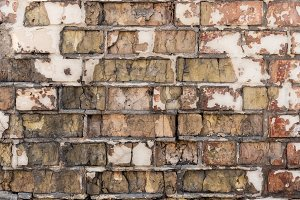 old weathered rough brick wall backg