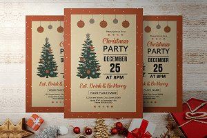 Christmas Party Flyer V898