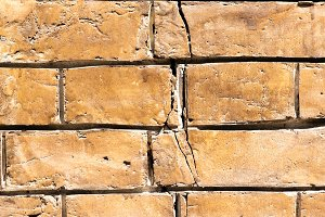 old brown brick wall textured backgr