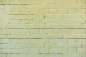old white brick wall background, ful