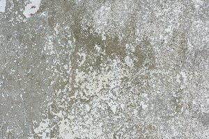 close-up view of old grey weathered