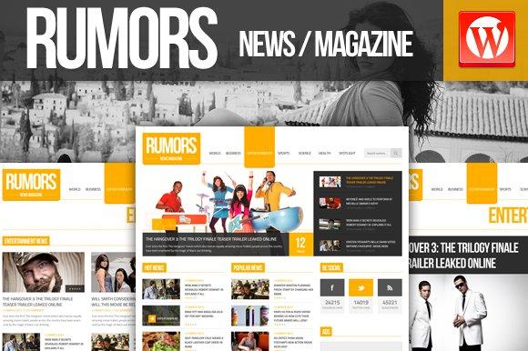 Rumors News/Magazine Wordpress