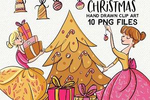 Fabulous Christmas Clipart set