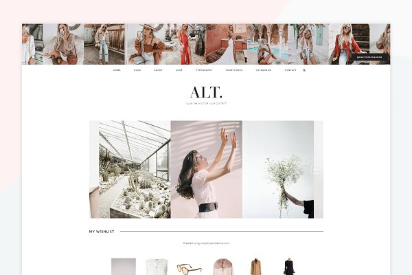 ALT - A Wordpress Genesis Theme