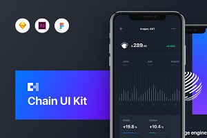 Chain Cryptocurrency UI Kit