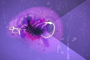 Grunge Purple  Background Texture