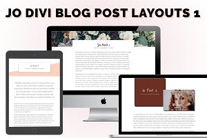 Jo Post Layouts for Divi