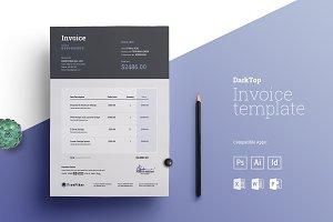 Minimal Excel Invoice