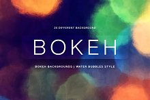 Bokeh | Water Bubbles style by  in Textures