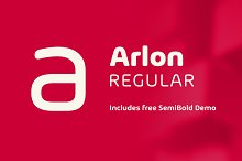 Arlon Regular by  in Sans Serif Fonts