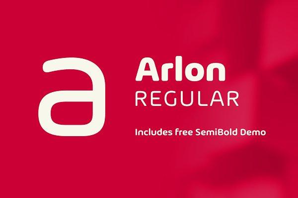 Sans Serif Fonts: Marc Lohner - Arlon Regular