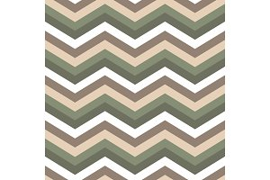 Seamless chevron pattern. Cute green