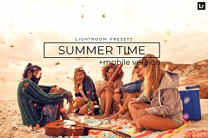20 Summer Time Lightroom Presets