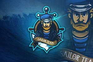 Sailor Team - Mascot & Esport Logo