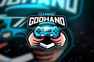 Godhand Gaming - Mascot &Esport Logo