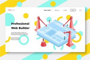 Web Design - Banner & Landing Page