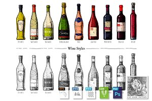 Types of Wine Bottles