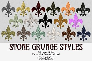 Stone Grunge Styles