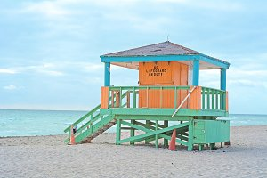 Lifeguard Tower in Miami