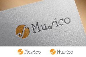 Musico Logo Template